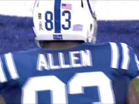 Tolzien darts pass to Allen for fourth down conversion
