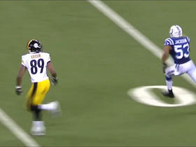 Roethlisberger finds Green deep for 35 yards