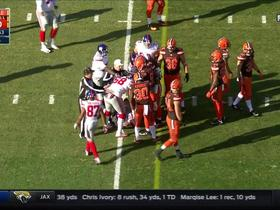 Giants and Browns get into scuffle after OBJ catch