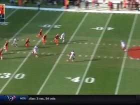 Bobby Rainey muffs punt; recovered by Browns