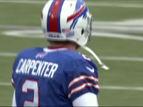 Dan Carpenter misses extra point wide left