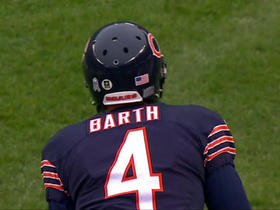Bears recover surprise onside kick to start 2nd half
