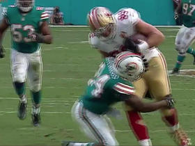 Watch: Kaepernick throws deep to Vance McDonald for 35 yards