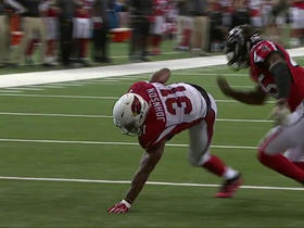 Watch: David Johnson keeps his balance for a 3-yard TD