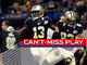 Watch: Can't-Miss Play: Trick play! Willie Snead throws 50-yard TD pass