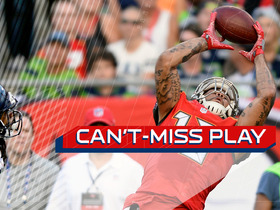 Watch: Can't-Miss Play: Evans pulls in falling TD catch over Sherman