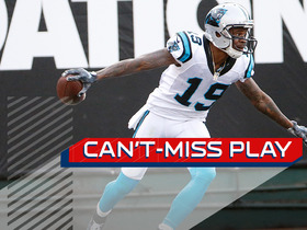 Watch: Can't-Miss Play: Newton places perfect ball to Ginn for 88-yard TD