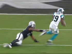 Ted Ginn uses lateral speed to pick up 13 yards and a first down