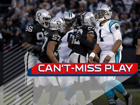 Watch: Can't-Miss Play: Khalil Mack seals win with strip-sack on Newton