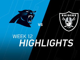 Panthers vs. Raiders highlights
