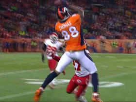 Thomas hauls in 24-yard catch to put Broncos in red zone
