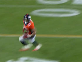 Siemian floats to Booker for a 22-yard connection