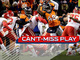 Watch: Can't-Miss Play: Santos goes off the post for game-winning FG