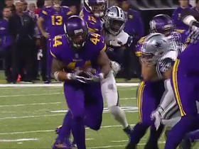 Matt Asiata rushes for 14 yards
