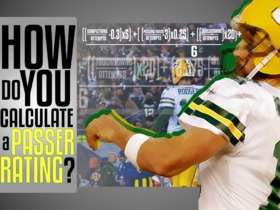 Watch: How Do You Calculate Passer Rating? Find out on with Aaron Rodgers' 116.7 Game