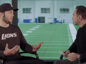 Watch: Matthew Stafford Sits Down with Mark Kriegel on GameDay Morning