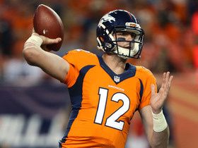 Watch: Palmer: Paxton Lynch had 'very good practice' Friday