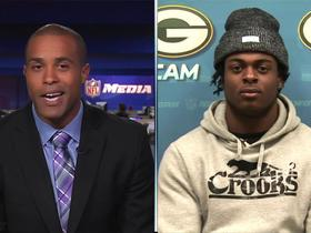 Watch: Devante Adams speaks with Patrick Claybon on Up To The Minute