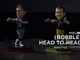 Watch: NFL 360: Big Ben and Eli go (bobble) head-to-head