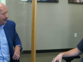 Watch: Dave Grunfeld sits down with EA Sports Chief Competition Officer Peter Moore