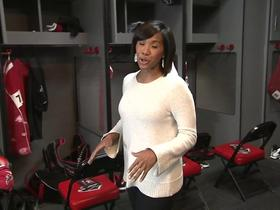 Watch: Locker Room Look-In: Atlanta Falcons
