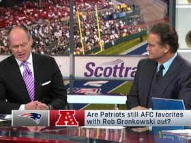 Watch: Are the Patriots still AFC favorites with Rob Gronkowski out?