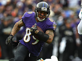Watch: Joe Flacco hits Steve Smith Sr. in stride for 23 yards