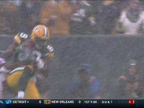 Watch: Aaron Rodgers finds Jared Cook for a first down