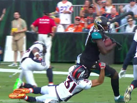 Watch: Blake Bortles pass deflected, caught by Neal Sterling for 17 yards