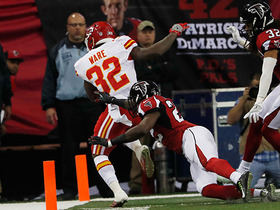 Watch: Alex Smith finds Spencer Ware for a 3-yard TD on fourth down