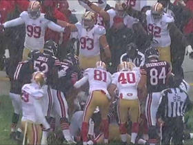 Watch: Deonte Thompson fumbles, 49ers recover