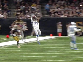 Watch: Drew Brees intercepted by Glover Quin
