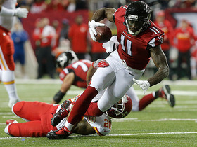Watch: Julio Jones puts Steven Nelson on skates, makes 21-yard catch