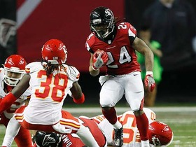 Watch: Devonta Freeman rushes for his second TD of the day