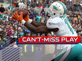 Watch: Can't-Miss Play: Devante Parker taps the toes on incredible TD catch