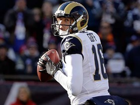Watch: Jared Goff throws dime down sideline to Kenny Britt for 66 yards