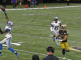 Watch: Drew Brees picked off by Tavon Wilson