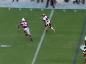 Watch: Chris Thompson takes short pass for 21 yards