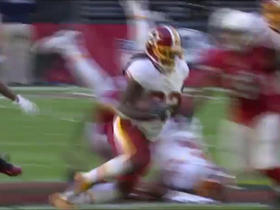 Watch: Kelley runs hard for 19 yards