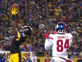 Lawrence Timmons picks off Eli Manning