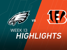 Watch: Eagles vs. Bengals Highlights