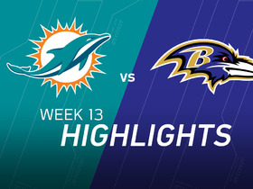 Watch: Dolphins vs. Ravens highlights