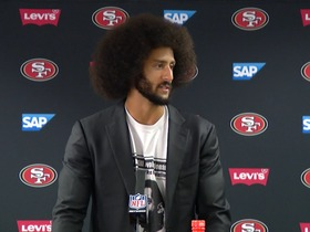 Watch: Kaepernick discusses his thoughts on being benched