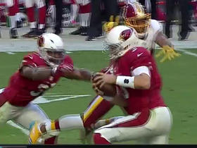 Watch: Norman flies at Palmer and misses, but Kerrigan gets the sack