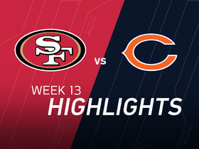 Watch: 49ers vs. Bears highlights