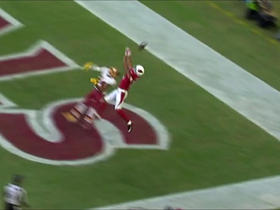 Watch: Norman breaks up pass intended for Floyd