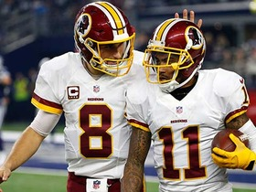 Watch: Cousins launches deep ball to Jackson for 59-yard gain