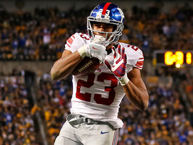 Watch: Rashad Jennings pulls in short pass, runs for 13-yard TD