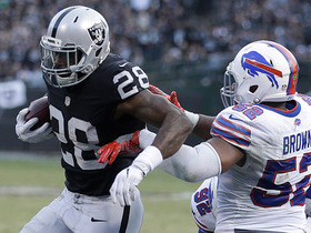 Watch: Latavius Murray rushes for second TD of game