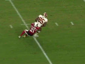 Watch: Kirk Cousins finds Vernon Davis for 18 yards